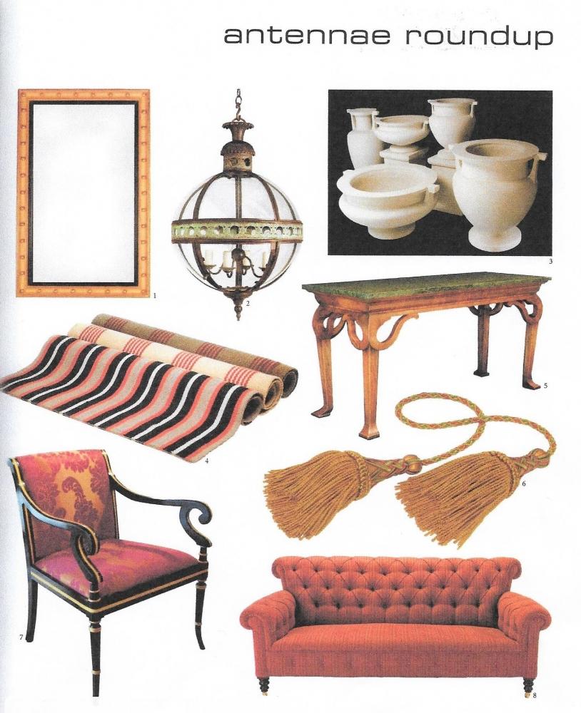 English Georgian : Furniture and Mirrors,Press
