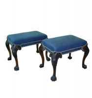 A76 George II Paw Foot Stool