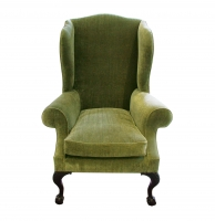 A271 George II Winged Arm Chair