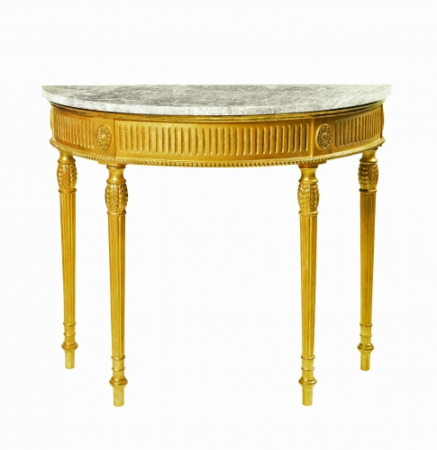 English Georgian : Furniture and Mirrors,Tables and Desks,A131 Adam Side Table