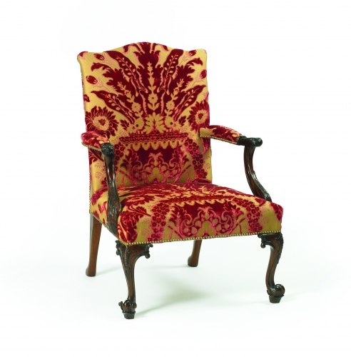 English Georgian : Furniture and Mirrors,Seating,A28 Chippendale Gainsborough Chair