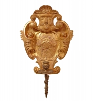 A13 George II Cartouche Wall Light