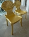 English Georgian - Lord Gold Gilded Shell Hall Chairs